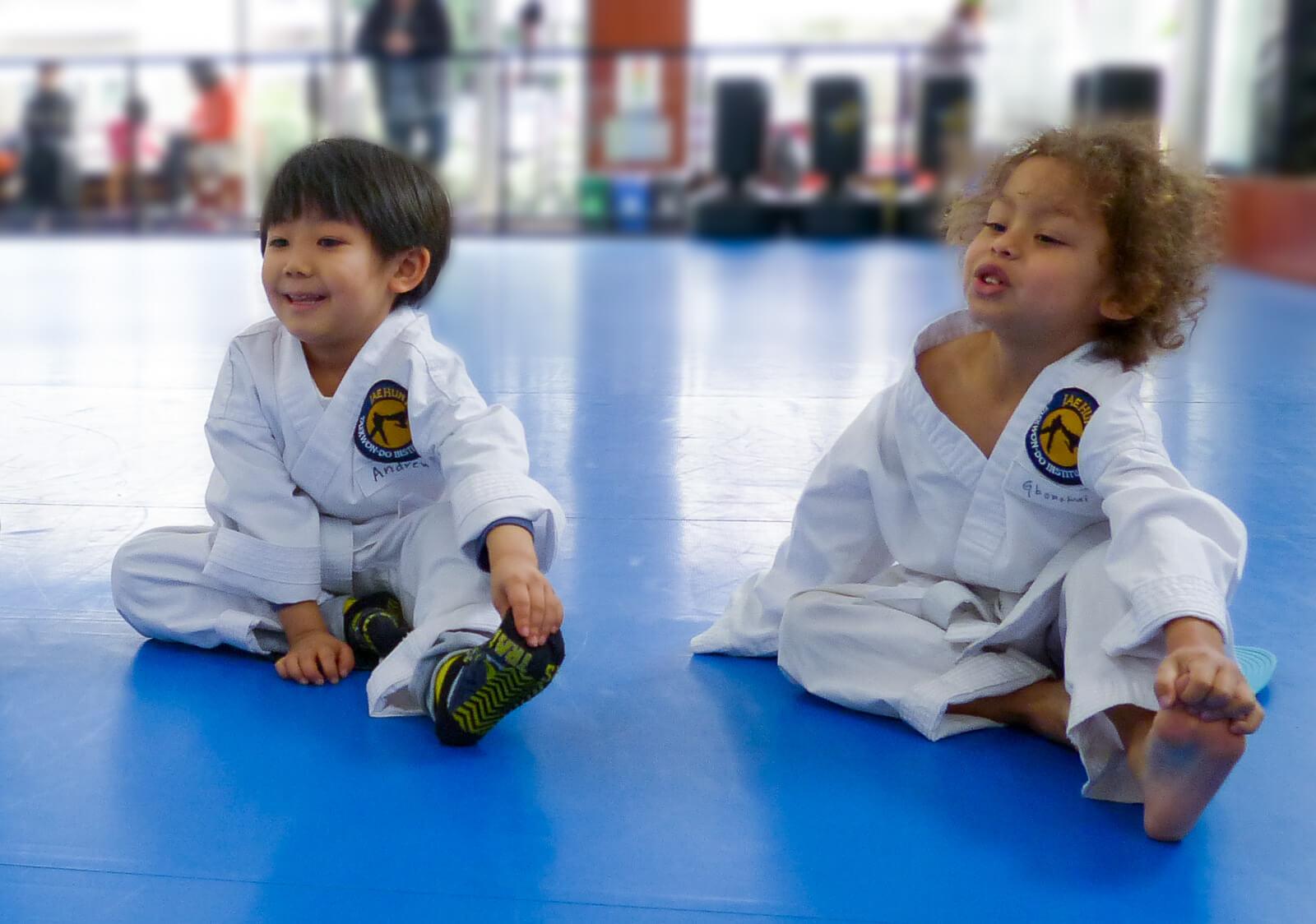 Focus, discipline, listening - skills taught in our martial arts classes for preschoolers